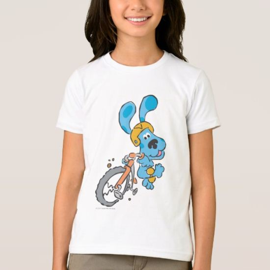 Blue's Clue - Bike T-Shirt