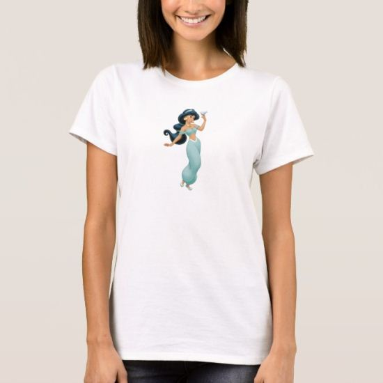 Aladdin Jasmine with bird T-Shirt