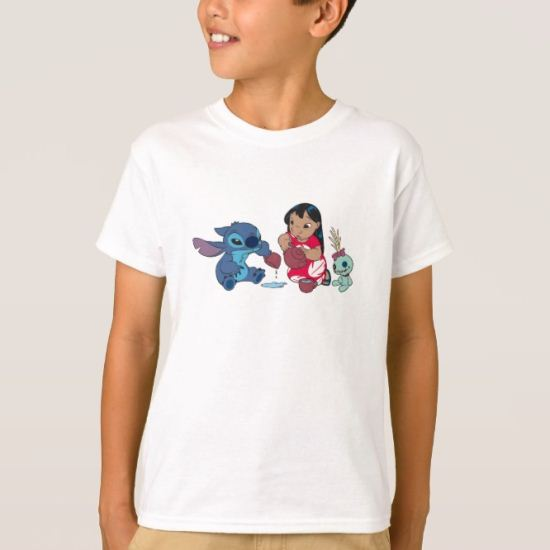 Lilo and Stitch Tea Party T-Shirt