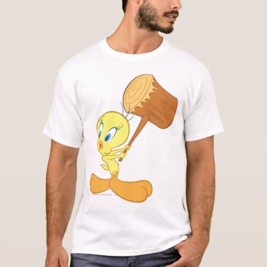 Tweety In Action Pose 1 T-Shirt