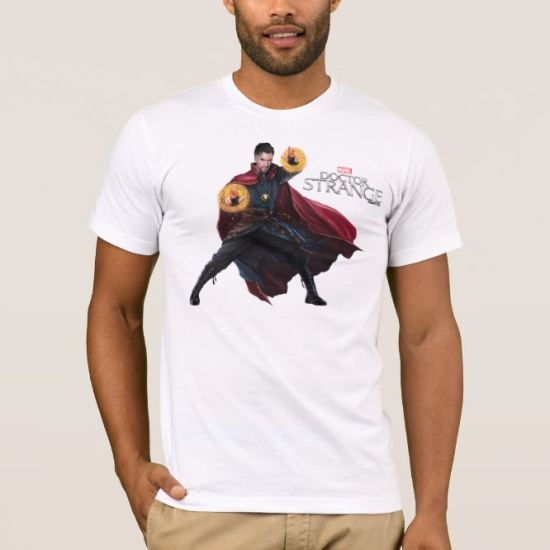 Doctor Strange Wielding Mandalas of Light T-Shirt