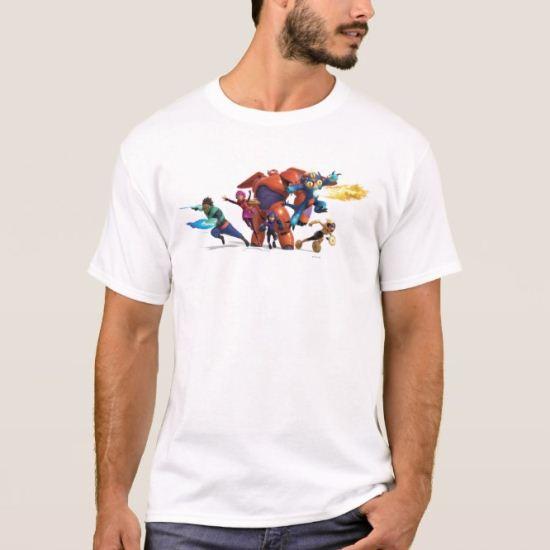 Big Hero 6 Superheros T-Shirt