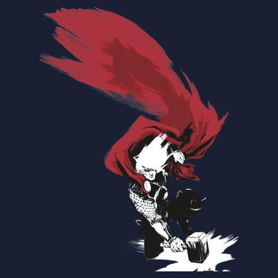 God of Thunder by MalcolmZim T-Shirt