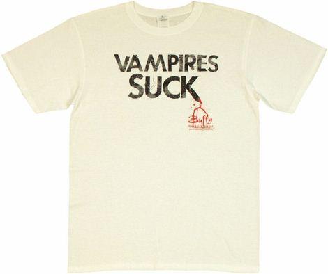 Buffy the Vampire Slayer Vampires Suck T Shirt