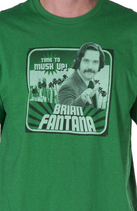 Brian Fantana Anchorman Shirt