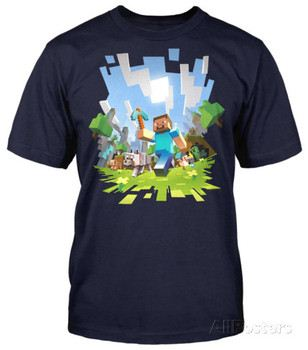 Minecraft - Adventure (slim fit)