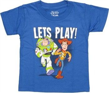 Disney Toy Story Let's Play Toddler T-Shirt