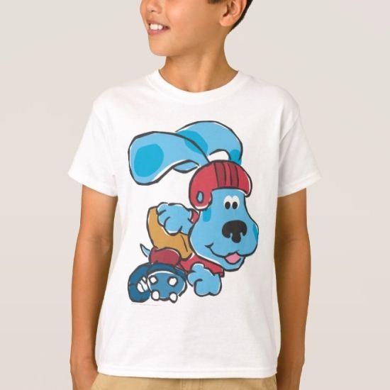 Blue's Clue - Skate T-Shirt