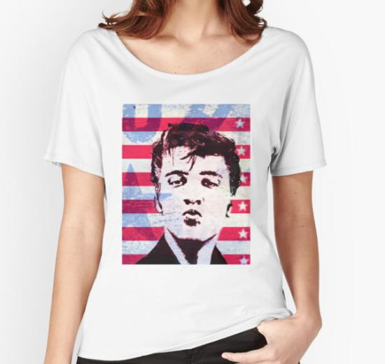 Elvis portrait nº5 Women's Relaxed Fit T-Shirt by Susana Fernández T-Shirt