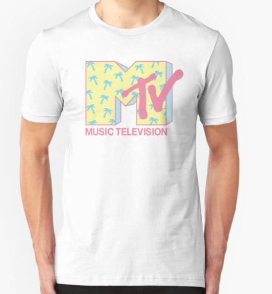 Summer MTV T-Shirt by Plan8 T-Shirt