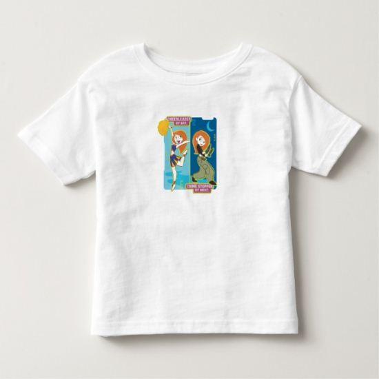 Kim Possible Crimestopper by Night Disney Toddler T-shirt