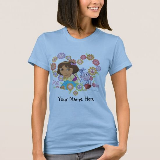Dora The Explorer | Paz And Love T-Shirt