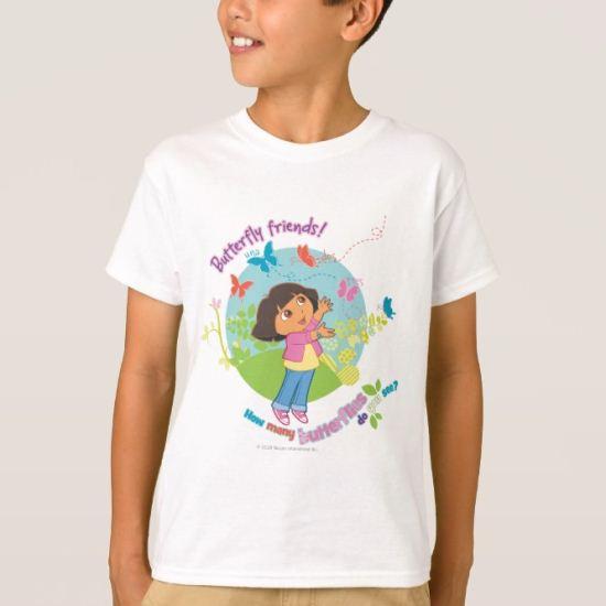 Dora The Explorer | Butterfly Friends T-Shirt