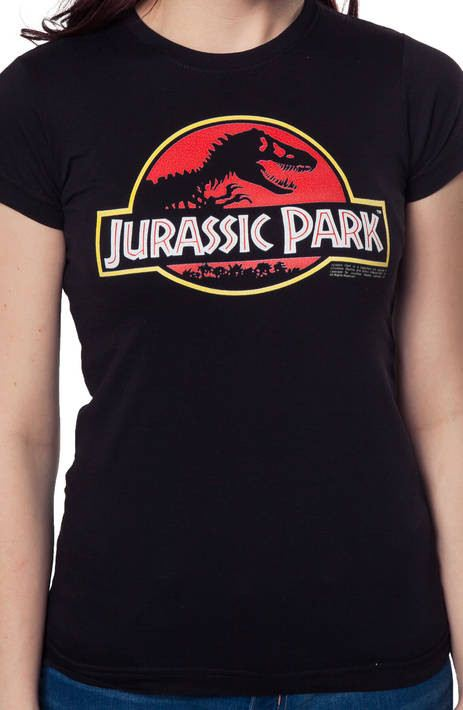 Ladies Jurassic Park Logo Shirt