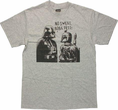 Star Wars No Sweat Boba Fett T Shirt