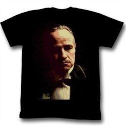 The Godfather Shirt Splatter Adult Black Tee T-Shirt