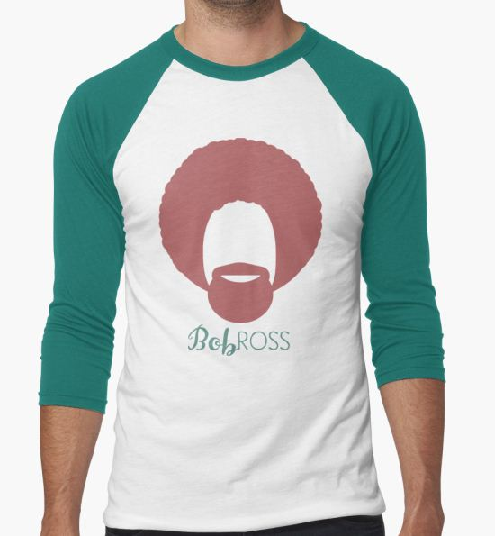 e8d9c0b43d3 ...  Bob Ross  T-Shirt by Casi Cline T-Shirt.