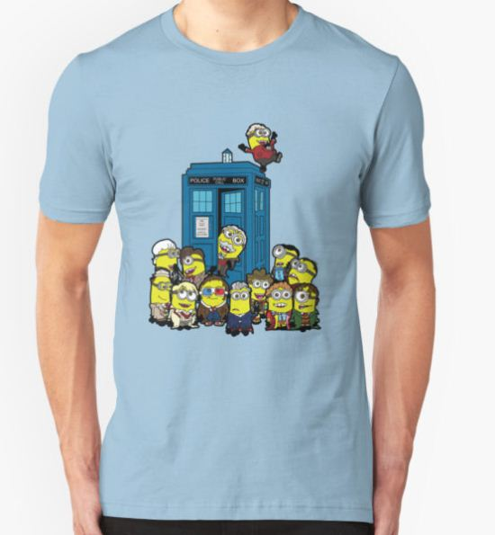 Minion Who T-Shirt by machomanohyeah T-Shirt