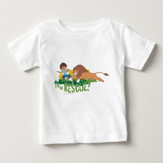 Go Diego Go! | To The Rescue! Baby T-Shirt