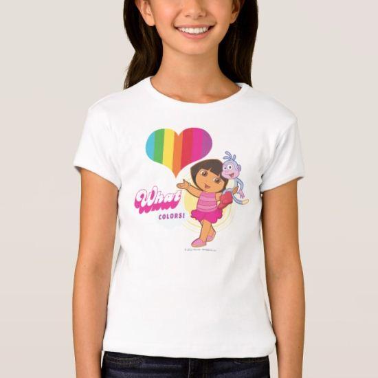 Dora The Explorer | What Colors! T-Shirt