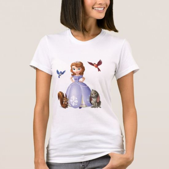 Sofia and Her Animal Friends T-Shirt