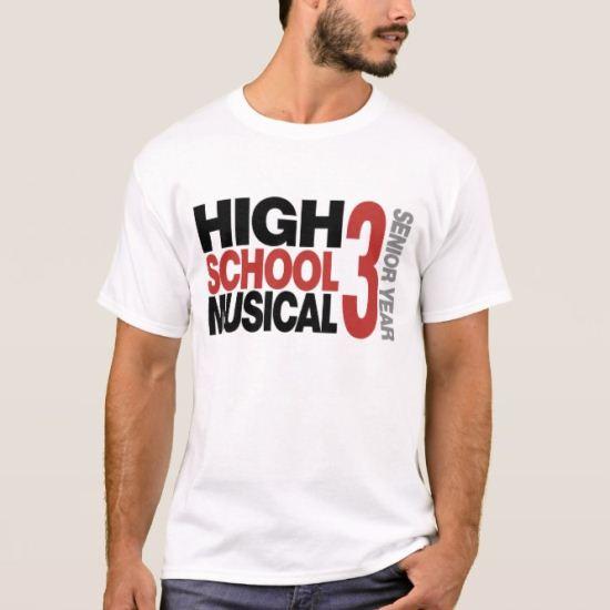 High School Musical 3: Senior Year Text Disney T-Shirt
