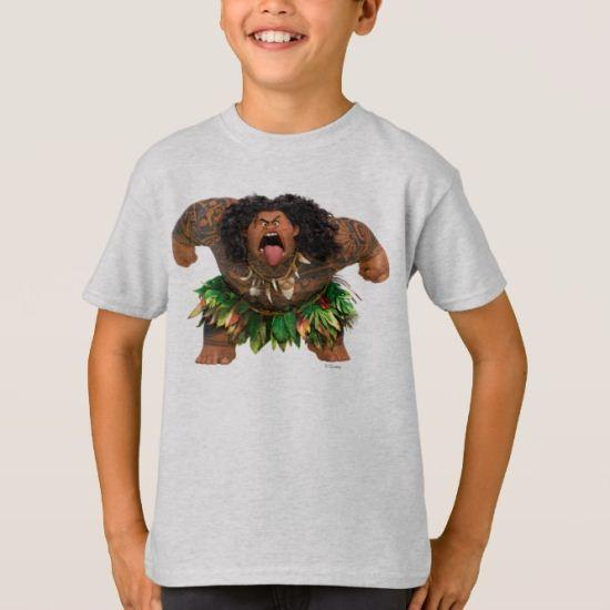 Moana   Maui - Don't Trick a Trickster T-Shirt