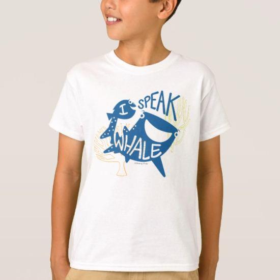 Dory & Destiny   I Speak Whale T-Shirt