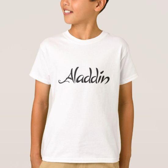 Aladdin logo T-Shirt
