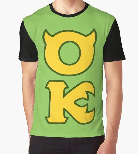 Monsters U: Oozma Kappa Graphic T-Shirt by alienaviary T-Shirt