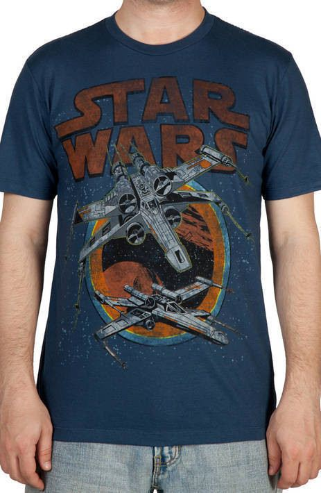 Flying X-Wing Fighters Shirt