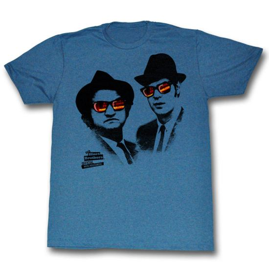 Blues Brother Shirt Shades Blue T-Shirt