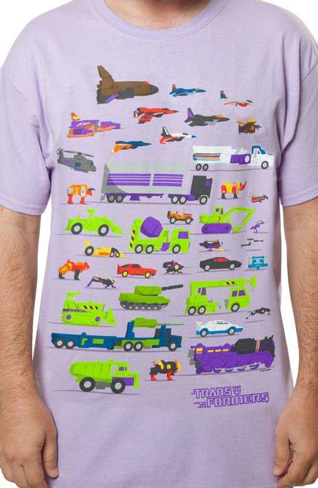 Decepticons Vehicles Shirt