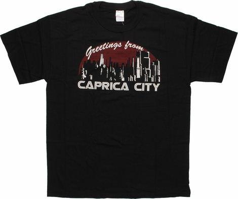 Battlestar Galactica Caprica City T-Shirt