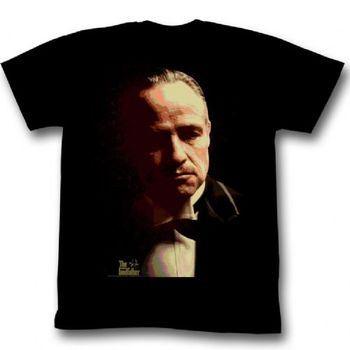 The Godfather Splatter Adult Black T-Shirt
