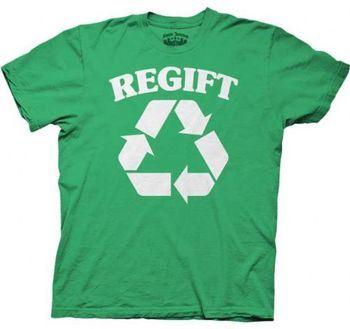 Seinfeld Regift Green Adult T-shirt