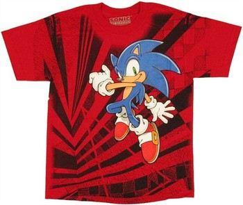 Sega Sonic the Hedgehog Jump Youth T-Shirt