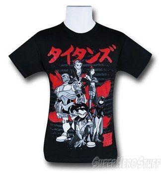 Teen Titans Japan T-Shirt