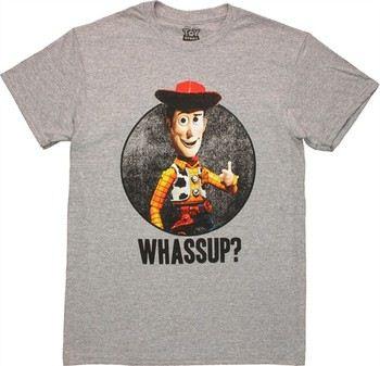 Disney Toy Story Woody Whassup T-Shirt