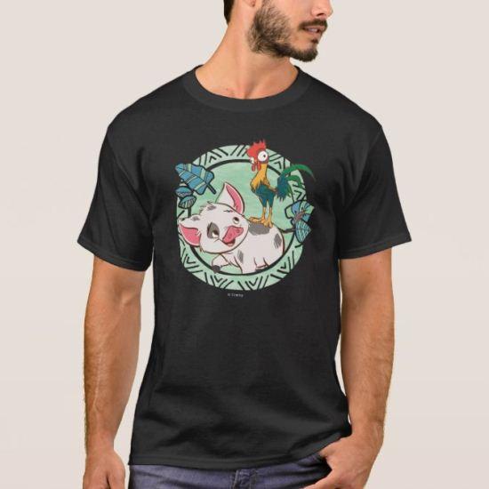 Moana   Pua & Heihei Voyagers T-Shirt