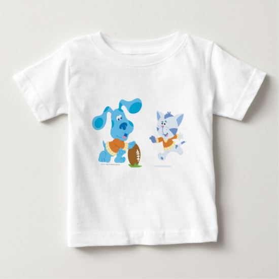 Blue's Clue - Hut One, Hut Two, Hut BLUE! Baby T-Shirt
