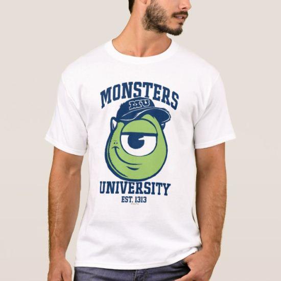 Mike Monsters University Est. 1313 light T-Shirt