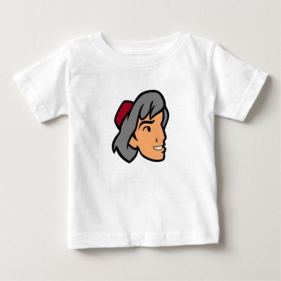 Aladdin Prince Ali Face Profile Baby T-Shirt