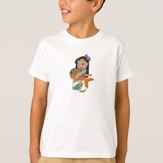 Lilo and Stitch's Lilo Holding Fish T-Shirt