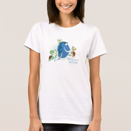 Dory with Kid Turtles Disney T-Shirt