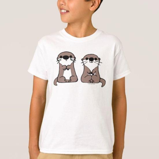 Finding Dory   Otter Cartoon T-Shirt