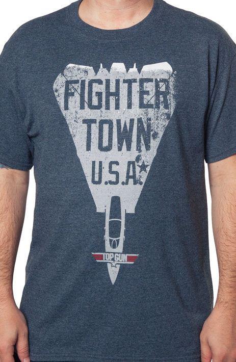 Top Gun Fighter Town Shirt