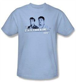 Animal House T-Shirt Movie Pledge Adult Light Blue Tee Shirt