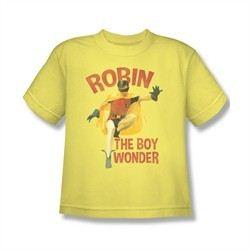 Classic Batman Shirt Kids Boy Wonder Banana T-Shirt