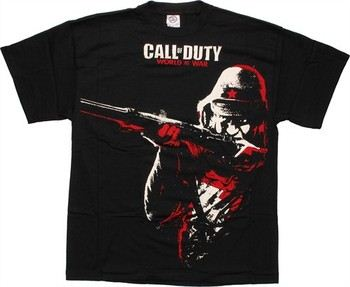 Call of Duty World at War Soldier T-Shirt